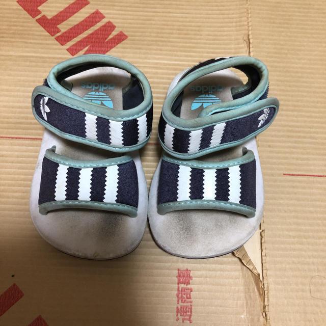 adidas(アディダス)のadidas サンダル 夏用 キッズ/ベビー/マタニティのベビー靴/シューズ(~14cm)(サンダル)の商品写真