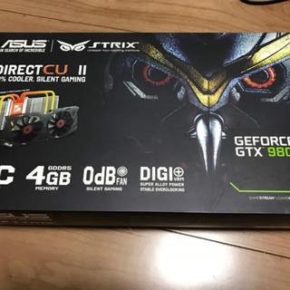 エイスース(ASUS)のSTRIX-GTX980-DC2OC-4GD5 ASUS(PC周辺機器)
