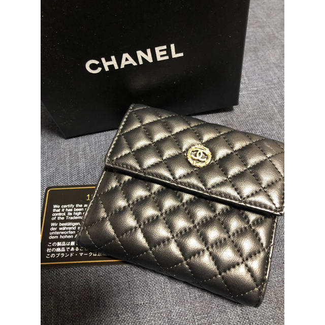 ジミーチュウ 財布 偽物アマゾン - CHANEL - CHANEL シャネル 折 財布の通販 by Mimi's shop|シャネルならラクマ