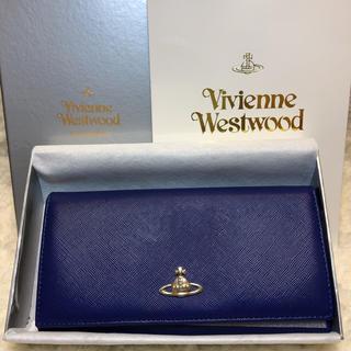 ヴィヴィアンウエストウッド(Vivienne Westwood)の新品 Vivienne ヴィヴィアン ウエストウッド レディース長財布 青(財布)