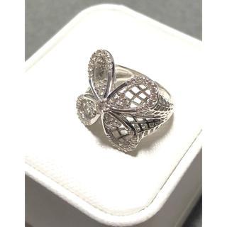 k18 リング  ダイヤ  未使用  ホワイトゴールド 鑑定書つき(リング(指輪))