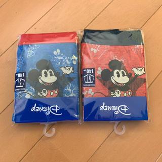 アンパサンド(ampersand)の mickeyボクサーパンツ140ampersand赤青(下着)