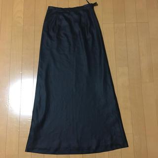 レッセパッセ(LAISSE PASSE)のレッセパッセ ロングスカート   黒(ロングスカート)