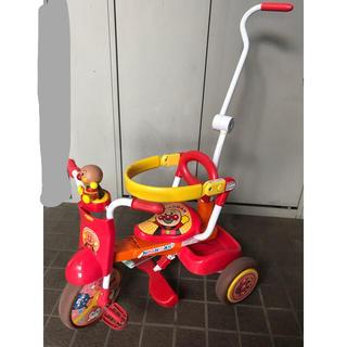 バンダイ(BANDAI)のアンパンマン三輪車(三輪車)
