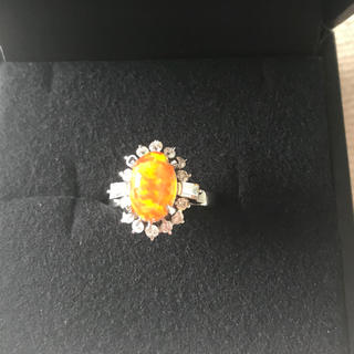 メキシコ ファイアーオパール(リング(指輪))