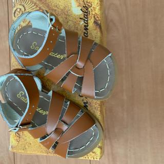 ボンポワン(Bonpoint)のソルトウォーター サンダル 6 14cm 未使用品(サンダル)
