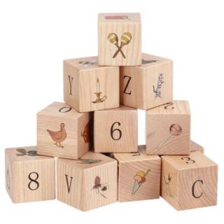 キャラメルベビー&チャイルド(Caramel baby&child )の新品✦1点のみ Konges Sloejd 積み木 木製ブロック(積み木/ブロック)