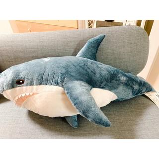 イケア(IKEA)のIKEA サメ ぬいぐるみ(ぬいぐるみ)