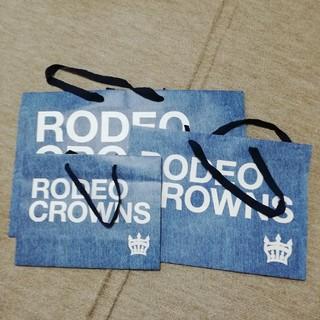 ロデオクラウンズワイドボウル(RODEO CROWNS WIDE BOWL)のRODEO  RCWB ロデオショッパー(ショップ袋)