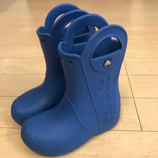 クロックス(crocs)の☆クロックス 長靴 レインブーツ☆ C11 18センチ(長靴/レインシューズ)