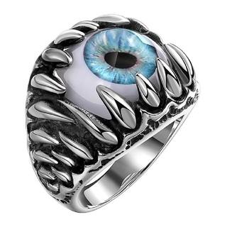 義眼リング ブルー 即納品☆(リング(指輪))