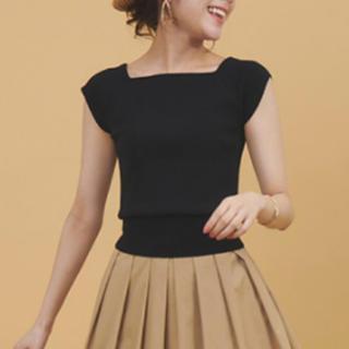 トランテアンソンドゥモード(31 Sons de mode)の人気完売商品。リボンニットと、スカート(ニット/セーター)