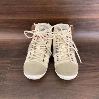 インディアン(Indian)のIndian インディアン  子供靴 スニーカー ハイカット 19センチ(スニーカー)