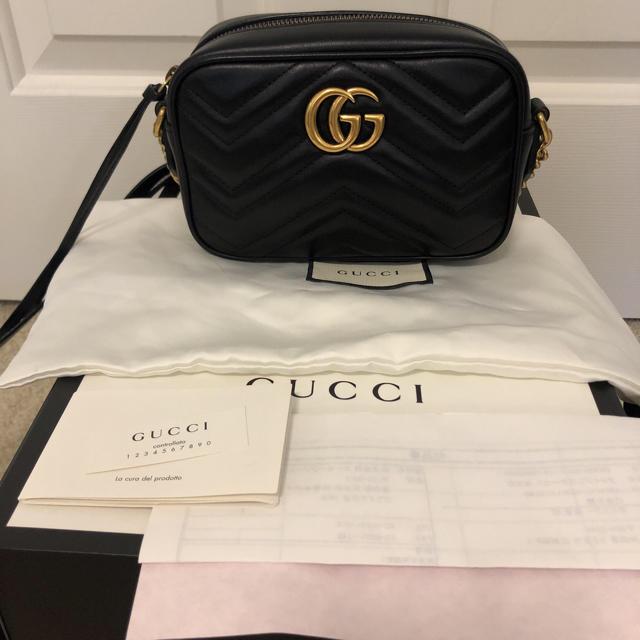 Gucci - 本物 グッチ マーモント ショルダーバックの通販 by Mina 's shop|グッチならラクマ