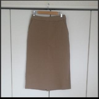 ムジルシリョウヒン(MUJI (無印良品))の良品計画  タイトロングスカート(ロングスカート)