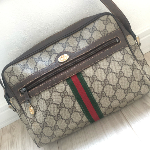 Gucci - ⚠️最終値下げ♦️良品♦️GUCCI ♦️オールドグッチ ショルダーバッグの通販 by towa's shop|グッチならラクマ