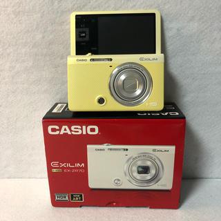 カシオ(CASIO)のCASIO デジタルカメラ EXILIM EX-ZR70YW (コンパクトデジタルカメラ)