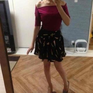 バービー(Barbie)のBarbie♡ アメリカ シルクスカート(ミニスカート)
