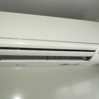 ミツビシ(三菱)の三菱エアコン6畳〜8畳 新品同様(ほぼ使用していません2017年式/無断購入不可(エアコン)