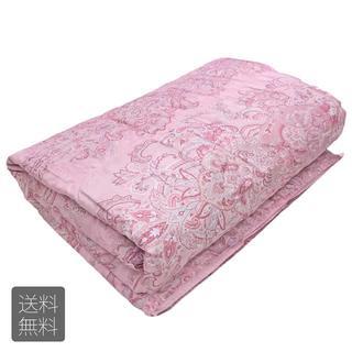 【たけ511様専用】肌に優しい肌掛け布団 ダウンケット(ピンク)(毛布)