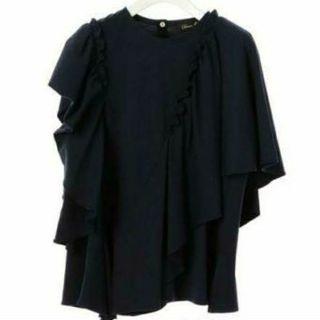 ドゥロワー(Drawer)のテンジクアシンメトリーカットソー(Tシャツ(半袖/袖なし))