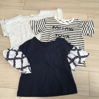 サンカンシオン(3can4on)のTシャツ 3枚セット 100cm(Tシャツ/カットソー)