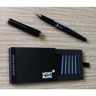 モンブラン(MONTBLANC)のモンブラン万年筆+カートリッジ(ペン/マーカー)