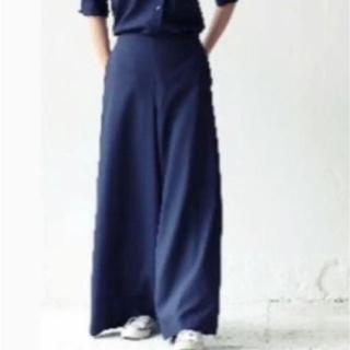 マディソンブルー(MADISONBLUE)の☆美品! MADISONBLUE ワイドパンツ01 定価¥41040(カジュアルパンツ)