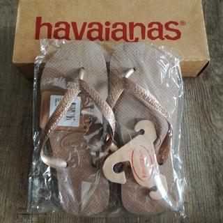 ハワイアナス(havaianas)の新品☆ハワイアナス ビーチサンダル 35/36 23㎝~23.5㎝(ビーチサンダル)