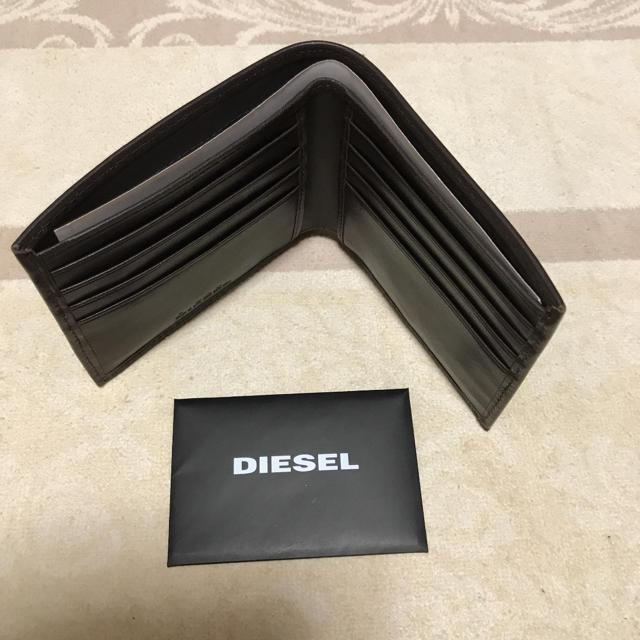 DIESEL(ディーゼル)の洗練されたデザイン シープレザー   箱なし メンズのファッション小物(折り財布)の商品写真