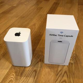 アップル(Apple)のAirMac Time Capsule 2TB(その他)