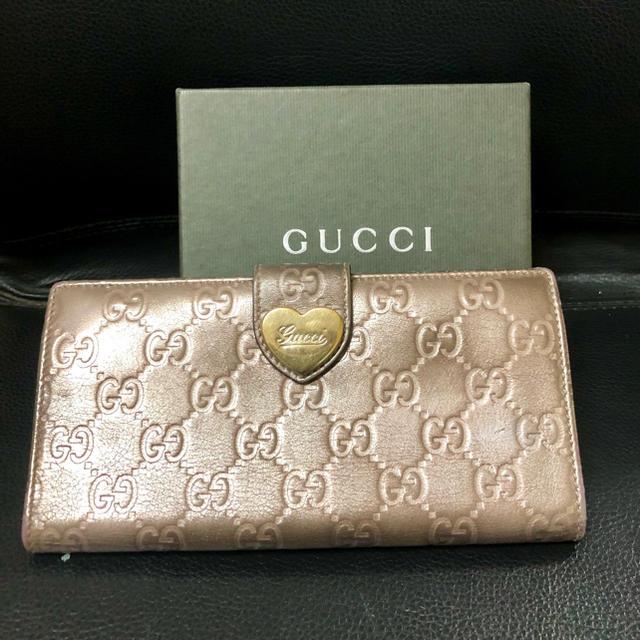 プラダ 財布 偽物 見分け方ポロシャツ | Gucci - GUCCI長財布の通販 by kinako's shop|グッチならラクマ