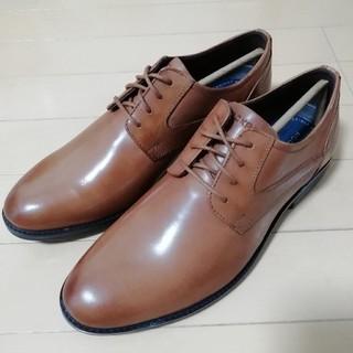ロックポート(ROCKPORT)の新品未使用 ロックポート 革靴 ビジネスシューズ 25cm ブラウン(ドレス/ビジネス)