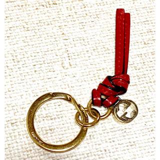 super popular f47c6 920a3 GUCCI グッチ キーリング キーホルダー ゴールド 赤レザー チャーム付き