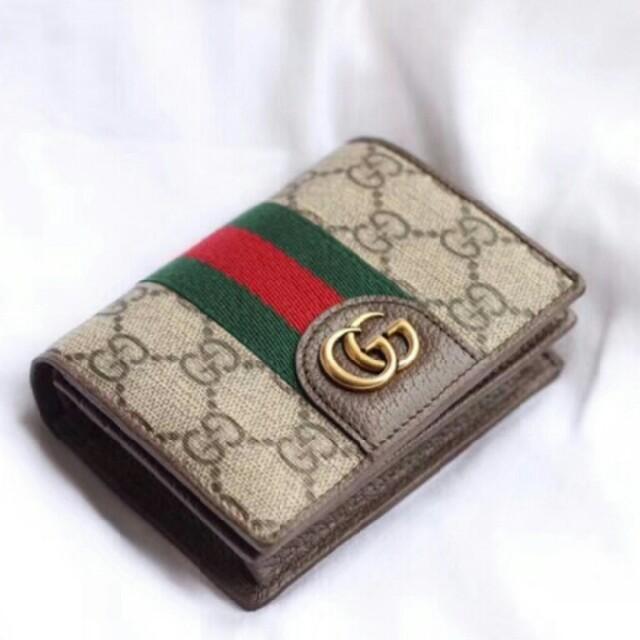 ブランド 財布 偽物 代引き suica 、 Gucci - Gucci グッチ 折り財布 の通販 by mika's shop|グッチならラクマ