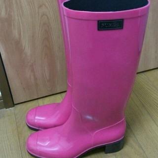 990715667833 フルラ(Furla)のFURLA ピンクレインブーツ 紗栄(レインブーツ/長靴