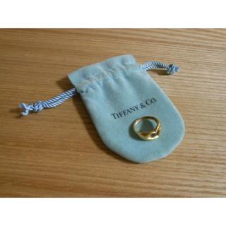 ティファニー(Tiffany & Co.)の【ティファニー】K18オープンハートリング指輪(リング(指輪))