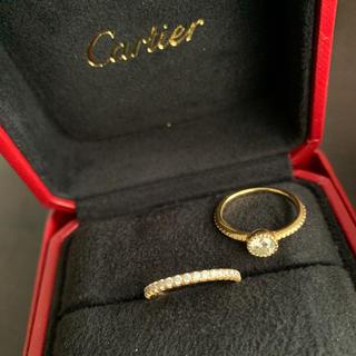 エタンセル  ドゥ カルティエ ウェディング とダイヤモンドリング セット(リング(指輪))