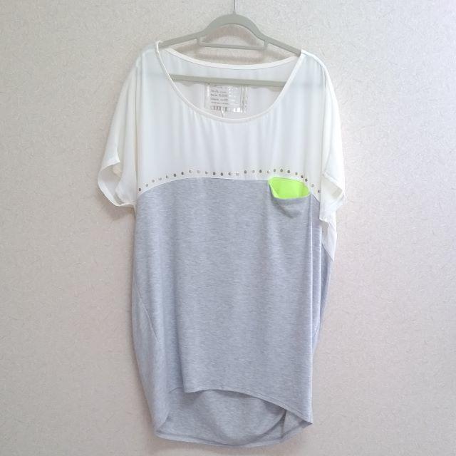mysty woman(ミスティウーマン)のミスティウーマン Tシャツ 半袖 Mサイズ レディースのトップス(Tシャツ(半袖/袖なし))の商品写真
