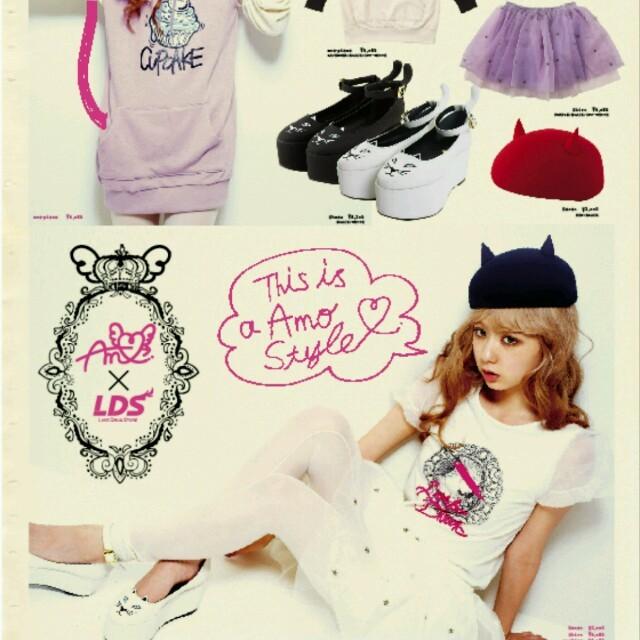 LDS(エルディーエス)のAMO×LDS♡チュールパンツ レディースのパンツ(ショートパンツ)の商品写真