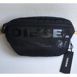 ディーゼル(DIESEL)の新品 ディーゼル ボディバッグ ショルダーバッグ F-SUSE BELTブラック(ボディーバッグ)
