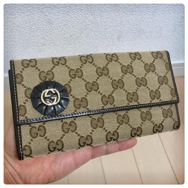 Gucci - 《美品》GUCCI(グッチ)長財布の通販 by ポルンガ's shop|グッチならラクマ