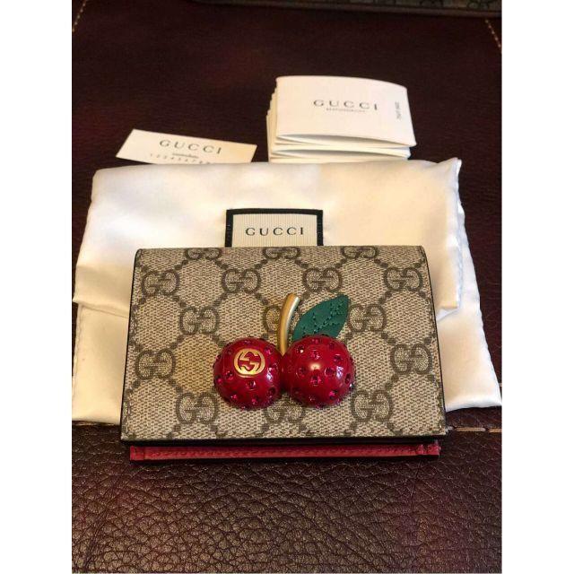 Gucci - 新品!グッチ チェリー 財布の通販 by K's shop|グッチならラクマ