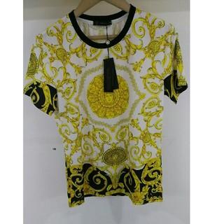 ヴェルサーチ(VERSACE)のVersace  ヴェルサーチ  Tシャツ メンズ 美品 (Tシャツ/カットソー(半袖/袖なし))