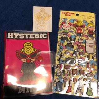 ヒステリックミニ(HYSTERIC MINI)のヒスミニ 手帳 シール(カレンダー/スケジュール)
