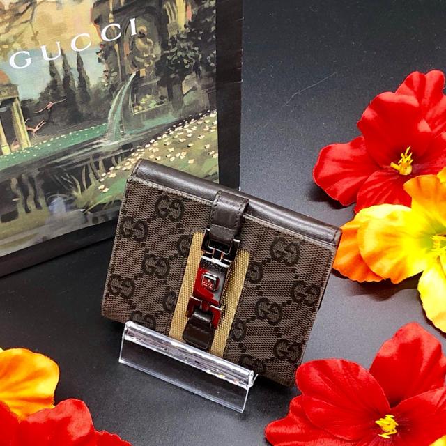 Gucci - 【即日発送✨】グッチ GGキャンバス ジャッキー金具 財布の通販 by Hiro'shop✨フォロワー様割引OK✨|グッチならラクマ