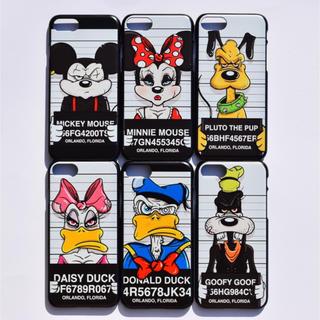 7a4a4b7e5e ディズニー プリズン iPhoneケース 限定 アメリカステッカーシュプリーム(iPhoneケース)