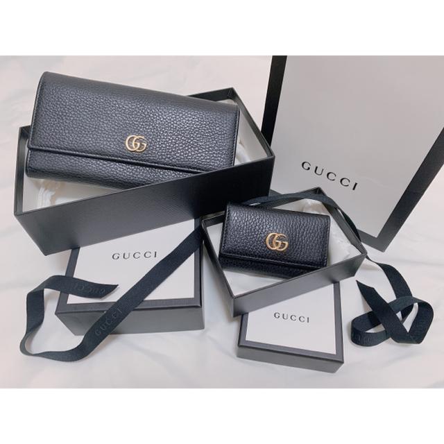 Gucci - 【 深夜SALE 】美品 GUCCI 長財布 キーケース セット販売の通販 by ℛ's shop|グッチならラクマ