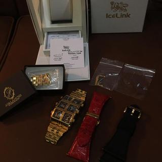 アヴァランチ(AVALANCHE)のicelink アイスリンク時計(腕時計(アナログ))