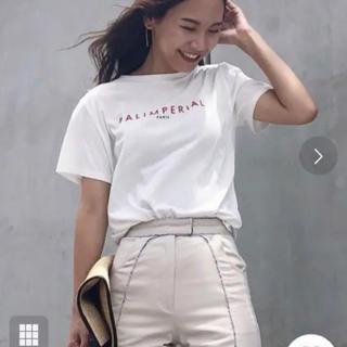 アメリヴィンテージ(Ameri VINTAGE)のアメリヴィンテージ BAL IMPERIAL LOGO TEE  レア♡ホワイト(Tシャツ(半袖/袖なし))